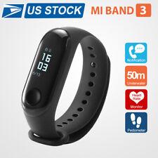 US Shipping Xiaomi Mi Band 3 Smart Wristband Watch OLED Touch Screen Waterproof