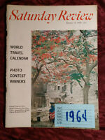 Saturday Review January 4 1964 TRAVEL ERICH FROMM FRED SPARKS ELMO ROPER