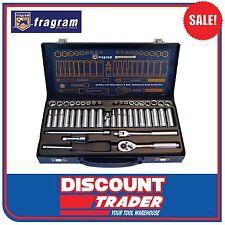 Fragram Tools 44 Piece 1/4″ Drive Metric & SAE Standard & Deep Socket Set S1501