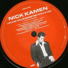 """NICK KAMEN loving you is sweeter than ever  baby after tonight 7"""" WS EX/ YZ106"""