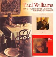 Paul WilliamsCD Just an Old Fashioned Love Song/Here Comes Inspiration Raven NEW