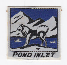 SCOUTS OF CANADA -  CANADIAN SCOUT NORTHWEST TERRITORIES NTW POND INLET Patch
