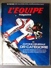 L'Equipe Magazine 25/11/2006; Entretien Jean Pierre Papin/ A. Dénériaz/ Huet