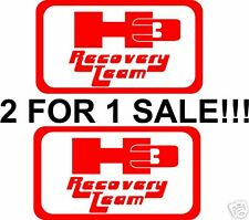 H3 RECOVERY TEAM DECAL HUMMER JEEP CJ WRANGLER RUBICON