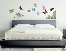 Butterflies Stand Wall Decal Room Stickers Living Room Redroom Home Room Decor