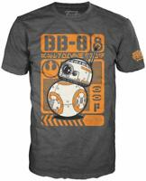 Funko T-Shirt Pop Poster Star Wars Episode 7 BB-8 Tee Small BB 8 BB8