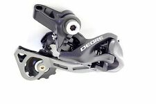 New Shimano Deore RD-M610 GS Dyna-Sys 10 Speed Rear Derailleur (Black)
