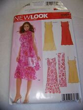 Simplicicty New Look 6482 Misses' Dresses and Scarf 8 -18 UNCUT