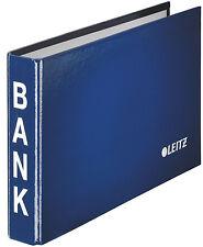 Leitz Bankordner für Kontoauszüge blau 2-ring-mechanik