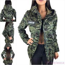 Winterjacke army style damen