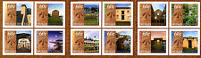 Norfolk Island 2011 MNH World Heritage 12v S/A Booklet Architecture Stamps