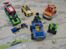 Lego 4635 Fun With Vehicles 100% Complete with Instructions and Minifigures