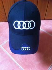 NEW Audi Baseball Golf Cap Adults Embroidery 100% Cotton TT S Line R8 Quattro