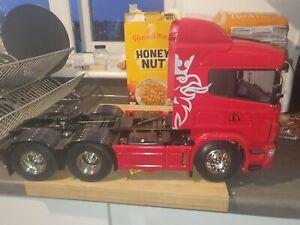 Tamiya 1/14 rc trucks scania