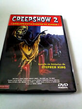 "DVD ""CREEPSHOW 2"" MICHAEL GORNICK STEPHEN KING GEORGE A ROMERO TOM SAVINI"