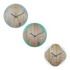 Orologi da parete bianca in legno