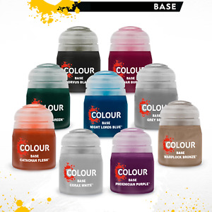 Citadel Base Paints Games Workshop 12ml Basepaint Choose Your Colour
