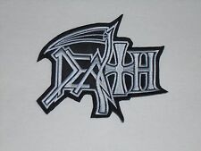 DEATH LOGO EMBROIDERED PATCH