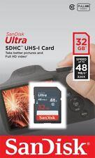 SanDisk 32GB Ultra Class 10 UHS-I SD HC 48MB/s SDHC Speicherkarte Jun