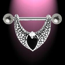 Brustpiercing Nipple Shield KOOLKATANA Onyx