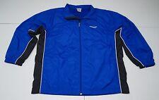 Reebok Mens 2XL Blue Polyester Mesh Lined Athletic Training Rain Jacket NWOTs