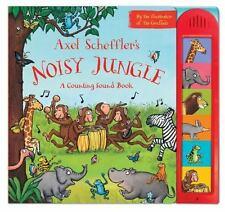 Axel Scheffler's Noisy Jungle: A Counting Sound Book (Board Book)