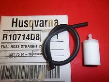 HUSQVARNA straight 265 fuel line & fuel filter fits 455 460 461 581756116 OEM