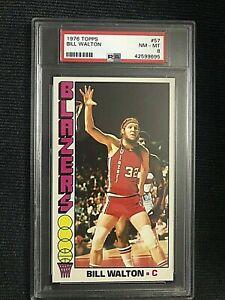 1976-77 Topps Bill Walton #57 (PSA 8)