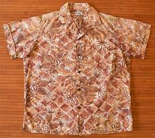 1950s Vintage Alfred Shaheen Tropical Pineapple Hawaiian Shirt
