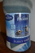 """Disney Frozen Olaf Head Over Heels Fleece Throw Blanket 40"""" by 50"""""""