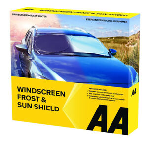 AA Car Essentials Windscreen Frost and Sun Protection Shield