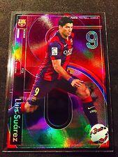 2015 Panini Football League PFL 09 Scorer Luis Suarez Rare Refractor card