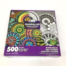 MANDALAS Color A Puzzle 500 piece # KI 8676 1 by Karmin
