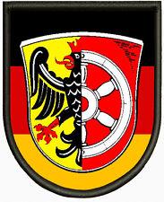 Wappen von Seligenstadt, Aufnäher ,Pin, Aufbügler