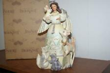Jim Shore Peace to All Woodland Angel Figurine Animals  Heartwood Creek 4041084