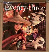 D23 Twenty Three Disney Spring 2021 Walt Disney Archives Magazine New Sealed
