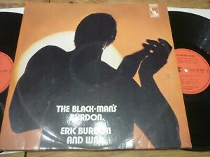 "ERIC BURDON & WAR ""THE BLACK-MAN'S BURDON"" ORIG FR 1971 2 LP"