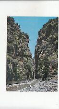 Bf30511 crete sfakia the ravine of samaria greece front/back image