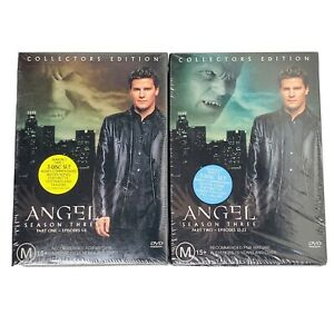 Angel - Season 3: Part 1 And Part 2 Collectors Edition (6-Disc DVD Combo) R4