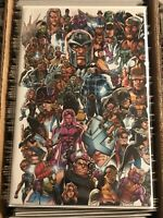 X-MEN #1 MARK BAGLEY EVERY MUTANT EVER VARIANT COVER 2019 uncanny marvel magneto
