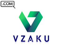 VZAKU .com  Premium BRAND BRANDABLE WEB APP Domain Name