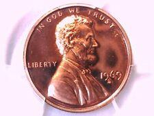 1969 S Lincoln Memorial Cent PCGS PR 68 CAM 39809545