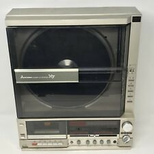 Vintage Mitsubishi Interplay System X7 Vertical Turntable - For Parts or Repair