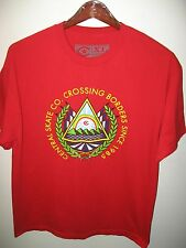 Central Skate Company Co. Skateboard Crossing Borders Skater Urban T Shirt XLrg