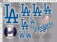 1set los angeles dodgers baseball decal sticker print self die-cut vinyl