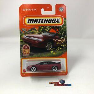 Subaru SVX #88 * Red RYU Asada * 2021 Matchbox Case Y * R10