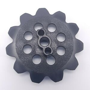 K'nex Sprocket Gear 6mm Hole Black Replacement Part Piece Plastic 517900