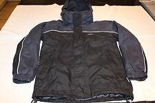 Trespass Navy Blue/Black Waterproof Windproof Coat Size 9-10 Years 134-140cms
