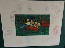 Simpsons Signed Limited Edition Animation Art