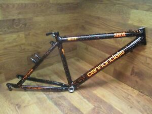 "VINTAGE CANNONDALE 3.0 SM800 26"" BEAST OF THE EAST MOUNTAIN BIKE FRAME - 14"" ctc"